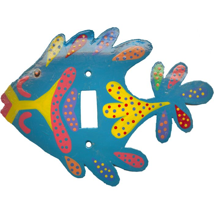 Rainbow Fish Turquoise