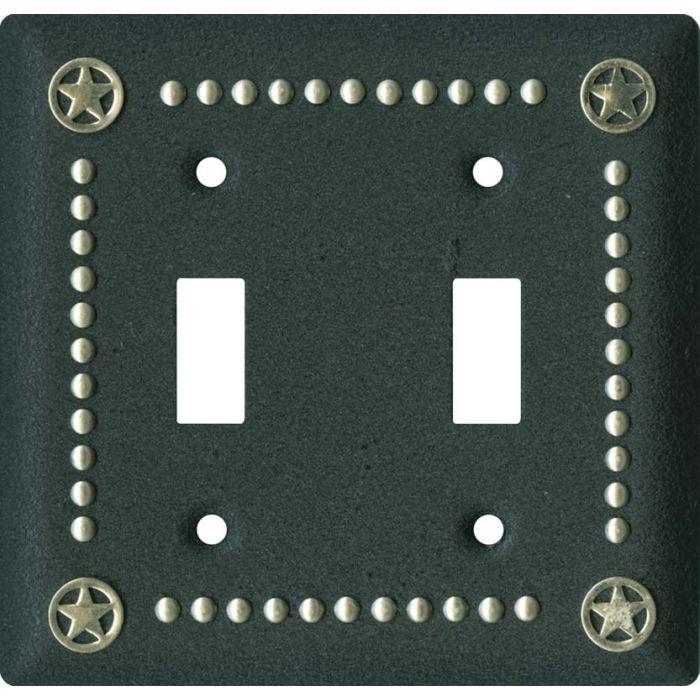 Ranger Black2 Toggle Switch Plates