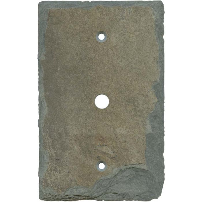 Vermont Recycled Slate Coax Cable TV Wall Plates