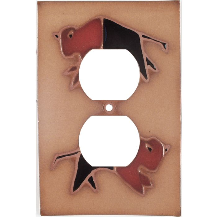 Red Black Buffalo - Outlet Covers