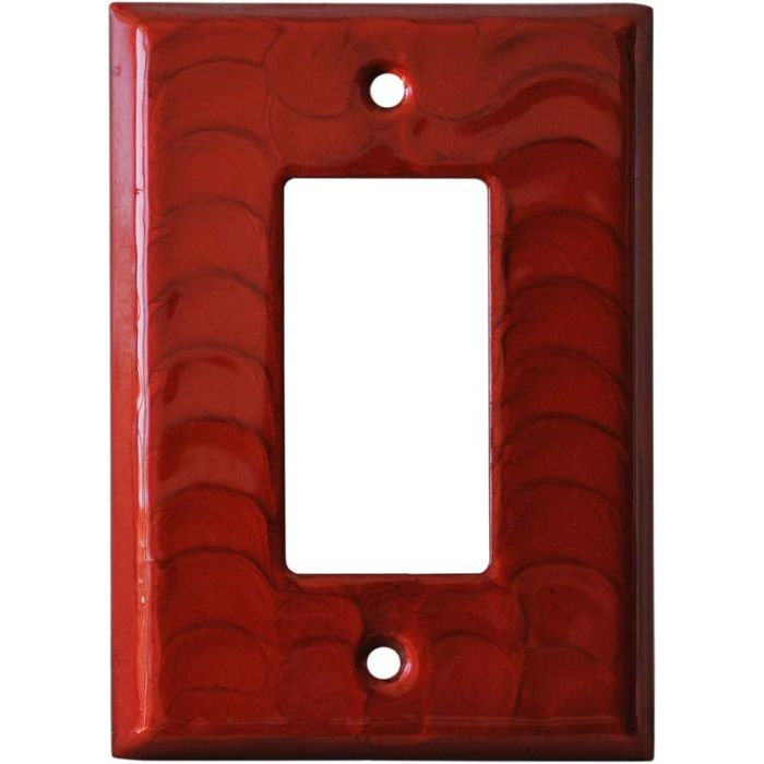 Red Motion - GFCI Rocker Switch Plate Covers