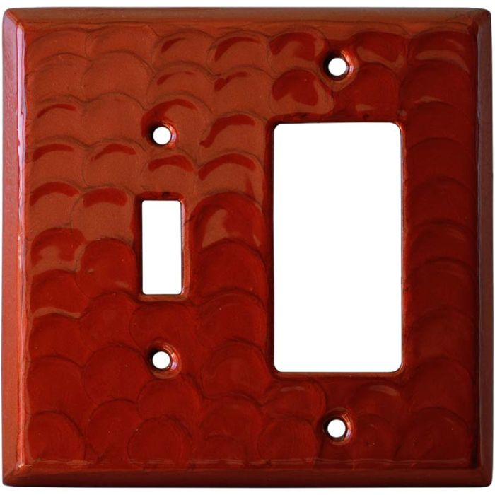 Red Motion Combination 1 Toggle / Rocker GFCI Switch Covers