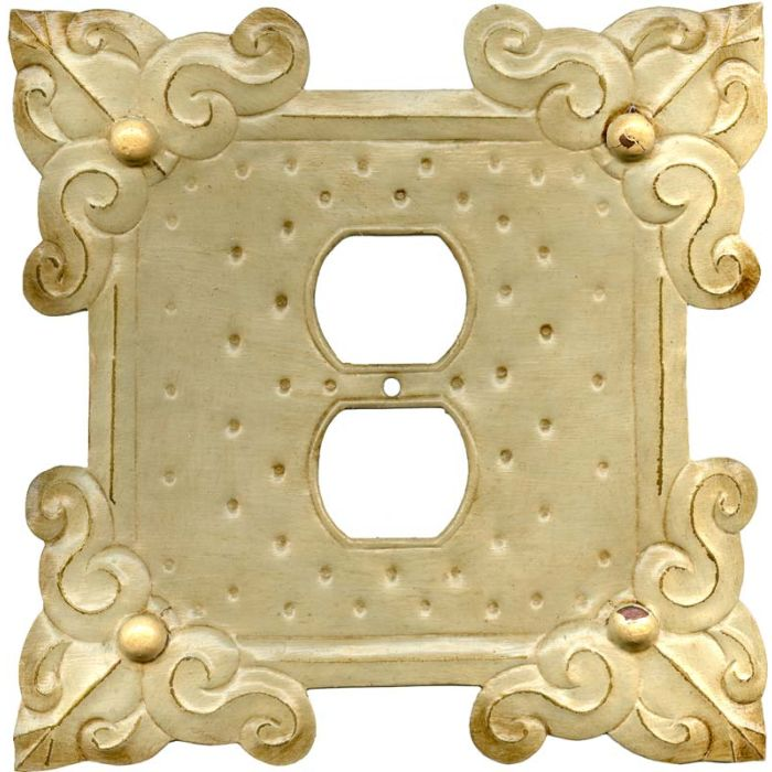 Russia1 - Gang Duplex Outlet Cover Wall Plate