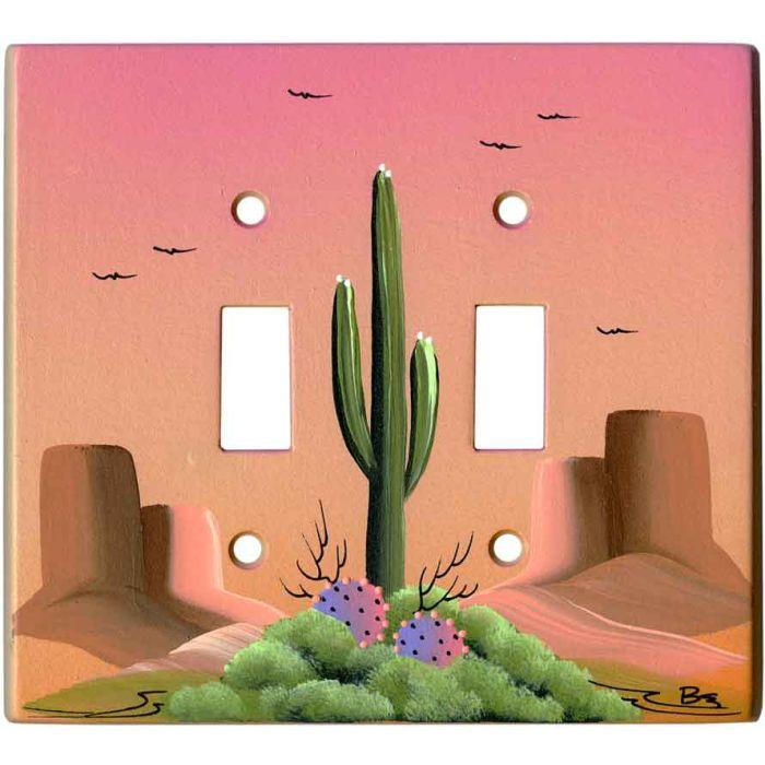 Saguaro Cactus on Sand