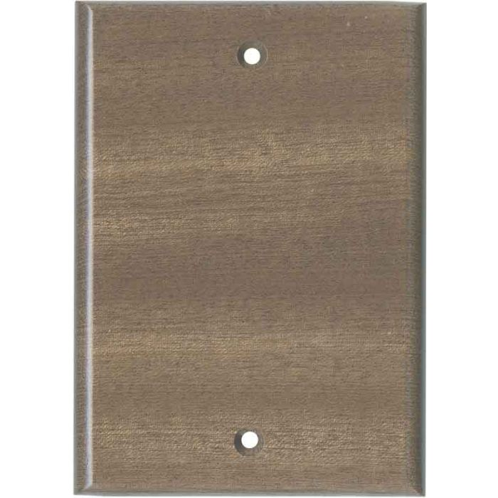 Sapele African Mahogany Unfinished Blank Wall Plate Cover