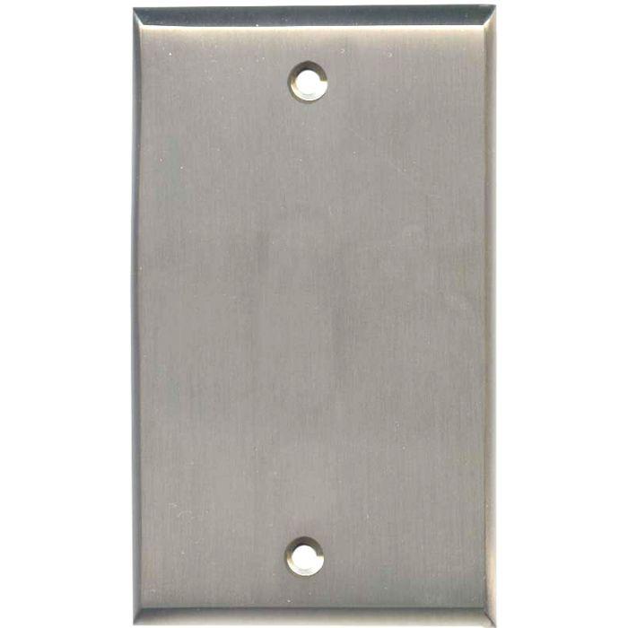 Satin Nickel - Blank Wall Plates