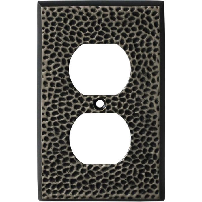 SC Hammered Antique Pewter - Outlet Covers
