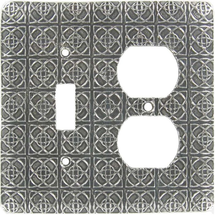 Shannon Combination 1 Toggle / Outlet Cover Plates