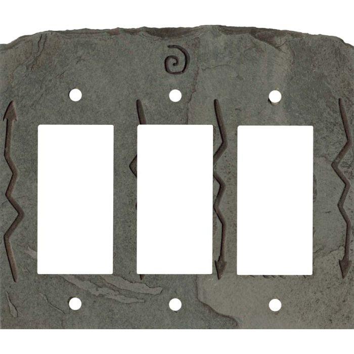 Southwest Petra Triple 3 Rocker GFCI Decora Light Switch Covers