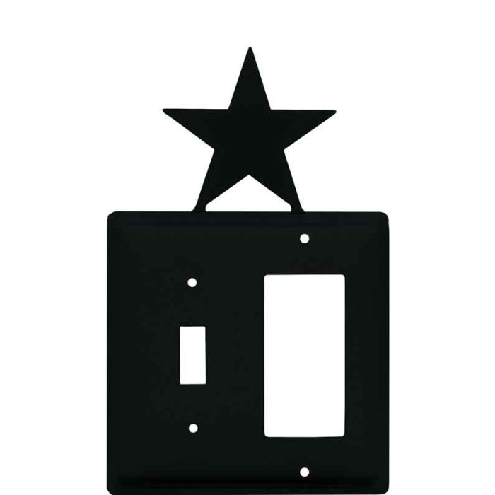Star Combination 1 Toggle / Rocker GFCI Switch Covers