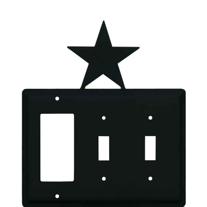 Star 1-Gang GFCI Decorator Rocker Switch Plate Cover