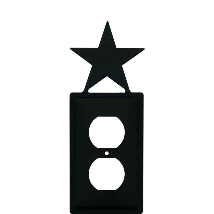 Star 1 Gang Duplex Outlet Cover Wall Plate