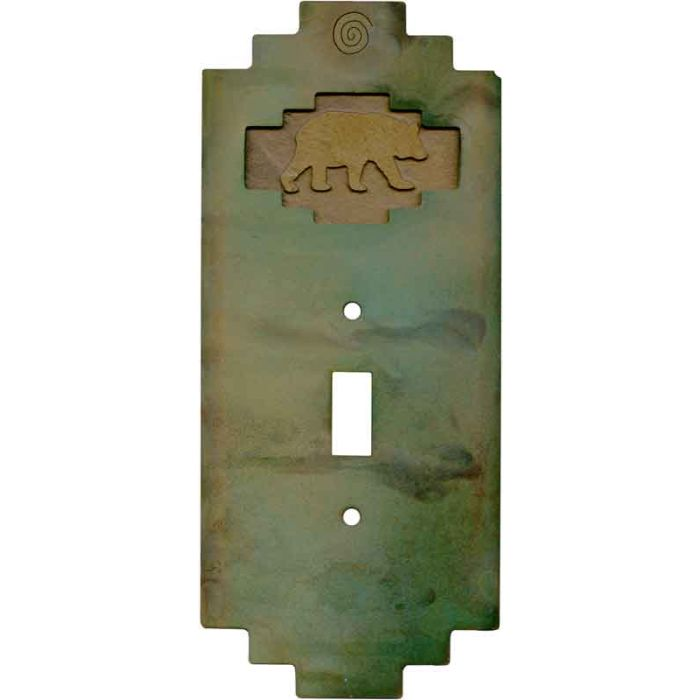 Steppe Bear1 Toggle Light Switch Cover