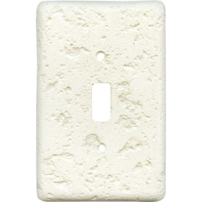 Stonique Biscuit Single 1 Toggle Light Switch Plates