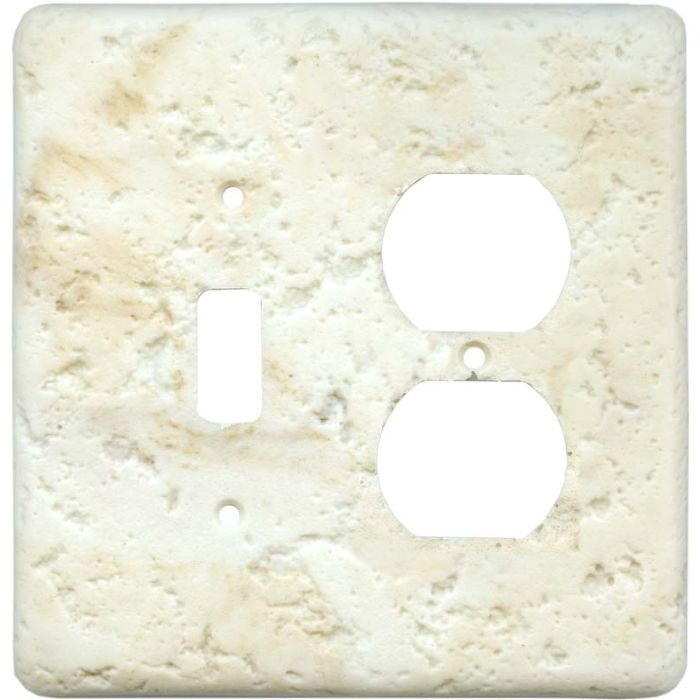 Stonique Cameo Combination 1 Toggle / Outlet Cover Plates