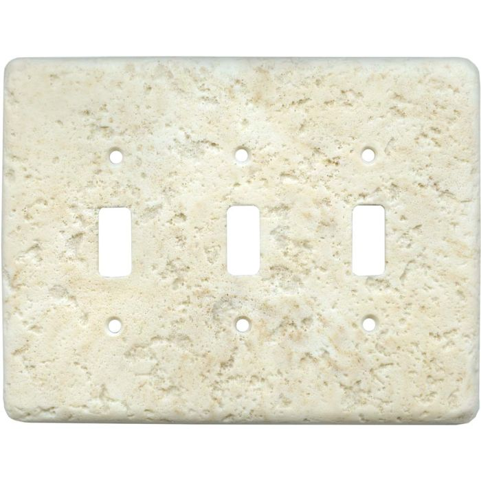Stonique Cameo Triple 3 Toggle Light Switch Covers