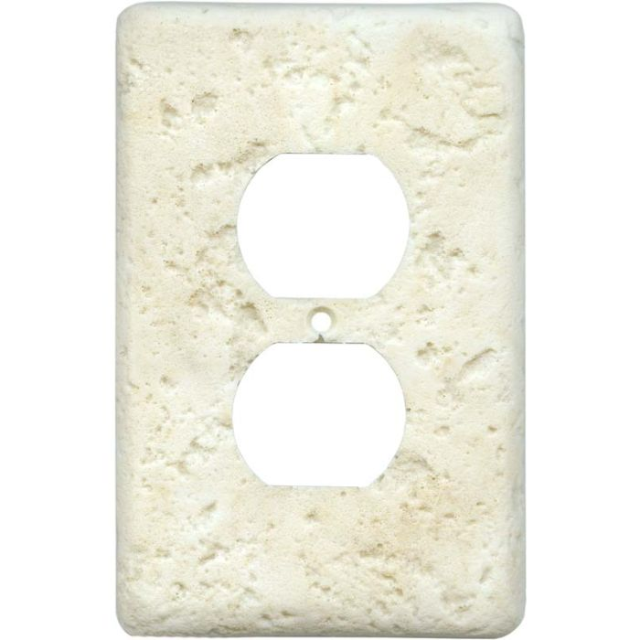 Stonique Cameo 1 Gang Duplex Outlet Cover Wall Plate