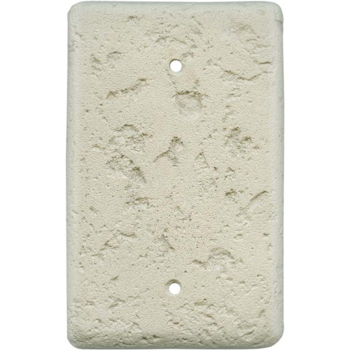 Stonique Cappuccino Blank Wall Plate Cover