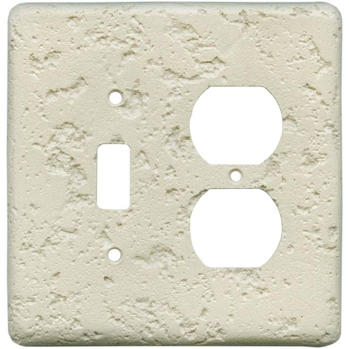Stonique Cappuccino Combination 1 Toggle / Outlet Cover Plates