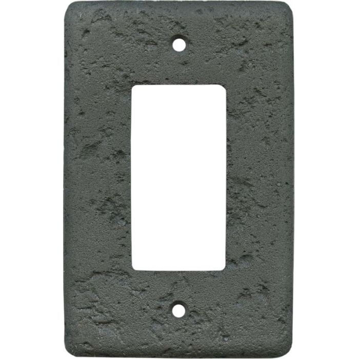 Stonique Charcoal1-Gang GFCI Decorator Rocker Switch Plate Cover