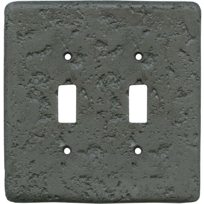 Stonique Charcoal2 Toggle Switch Plates