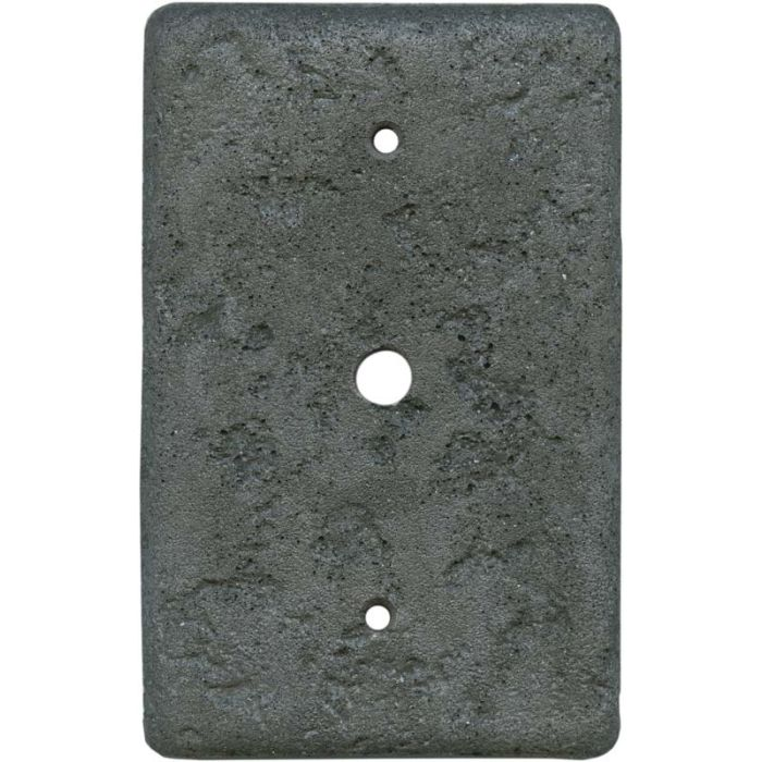 Stonique CharcoalCoax - Cable TV Wall Plates
