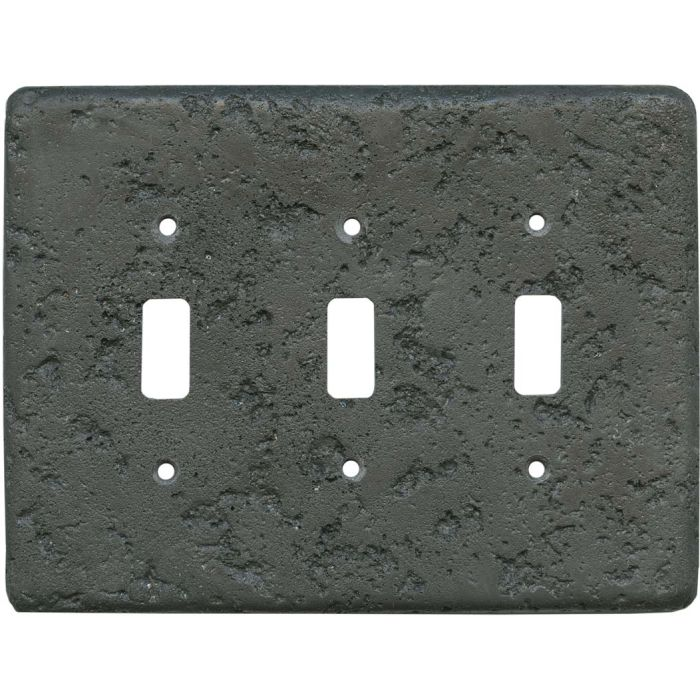 Stonique Charcoal3 - Toggle Switch Plates