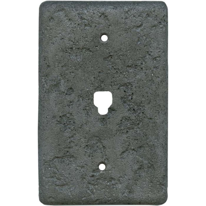 Stonique Charcoal1 Toggle Light Switch Cover