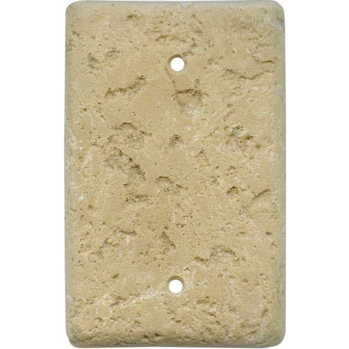 Stonique Cocoa Blank Wall Plate Cover