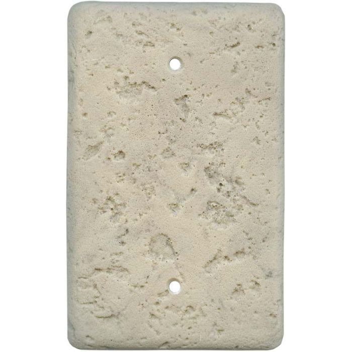 Stonique Espresso Blank Wall Plate Cover