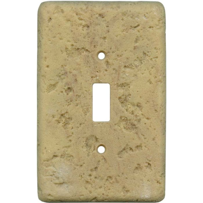 Stonique Honey Gold Single 1 Toggle Light Switch Plates