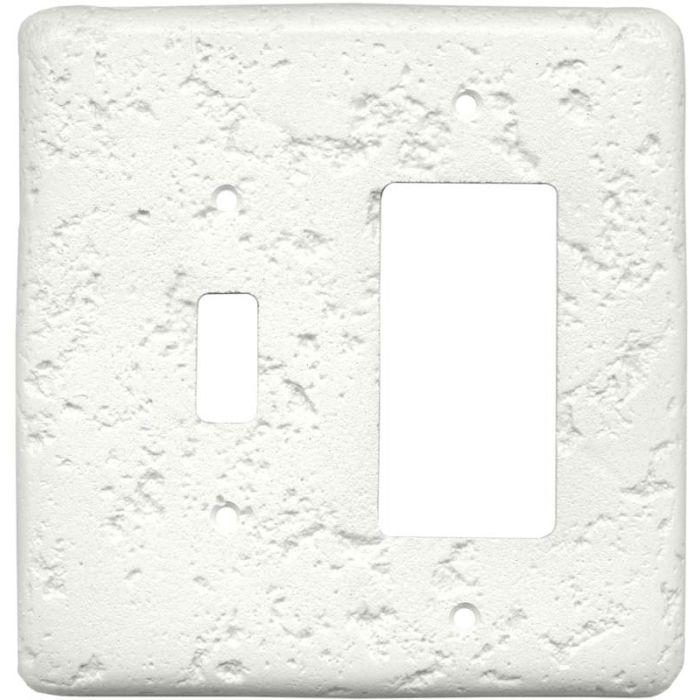 Stonique Linen Combination 1 Toggle / Rocker GFCI Switch Covers