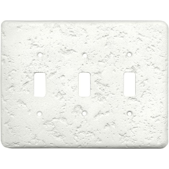 Stonique Linen Triple 3 Toggle Light Switch Covers