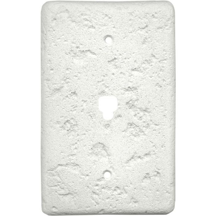Stonique Linen 1 Toggle Light Switch Cover