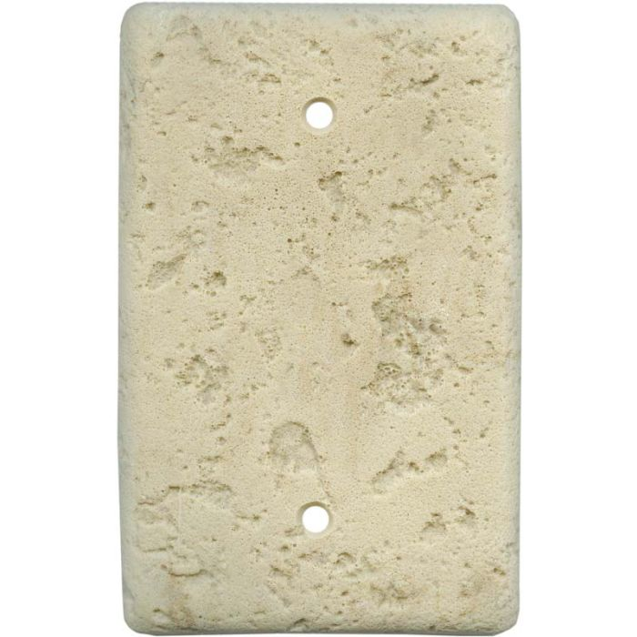 Stonique Mocha Blank Wall Plate Cover