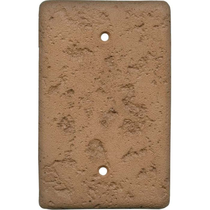 Stonique Terra Cotta Blank Wall Plate Cover