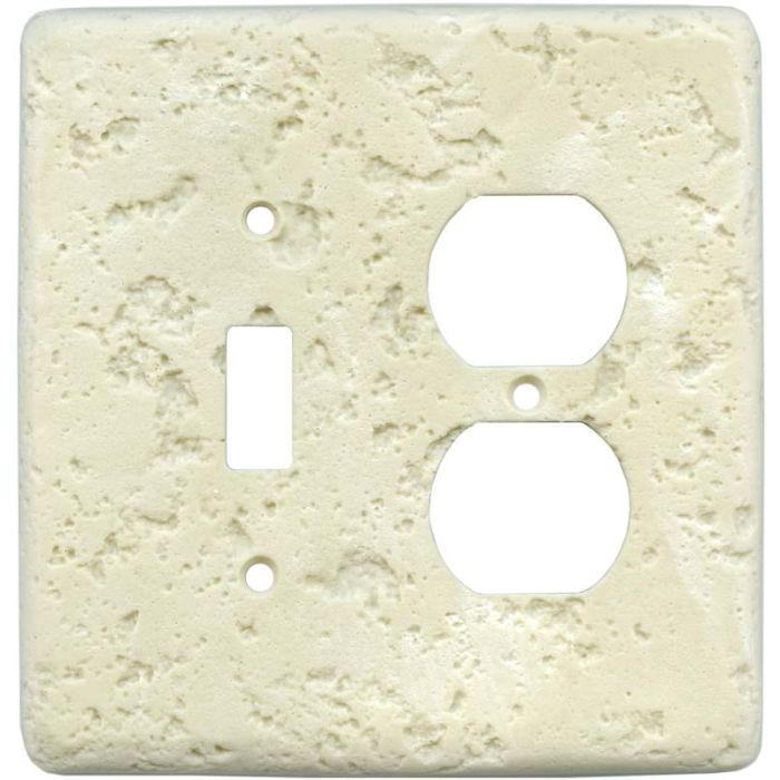 Stonique Wheat Combination 1 Toggle / Outlet Cover Plates