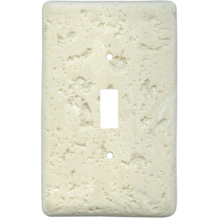Stonique Wheat Single 1 Toggle Light Switch Plates