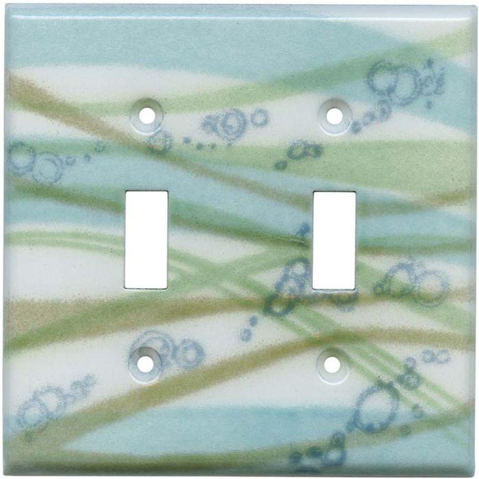 Stream 2 Toggle Switch Plates