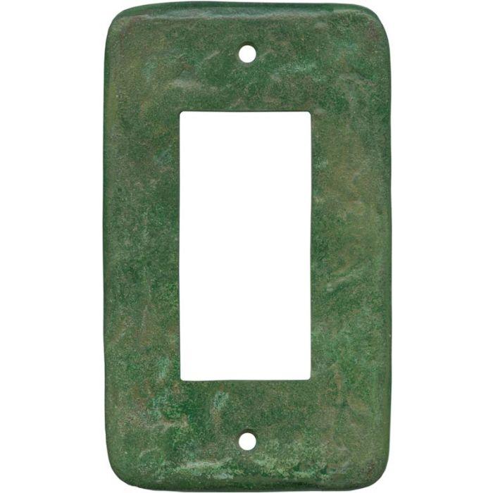 Texture Mesa Verde Green Single 1 Gang GFCI Rocker Decora Switch Plate Cover