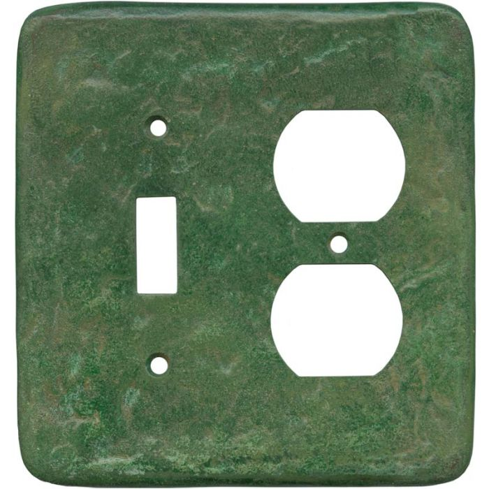 Texture Mesa Verde Green Combination 1 Toggle / Outlet Cover Plates