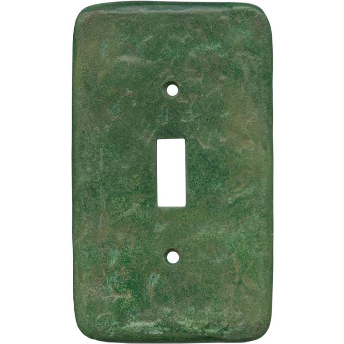 Texture Mesa Verde Green Single 1 Toggle Light Switch Plates