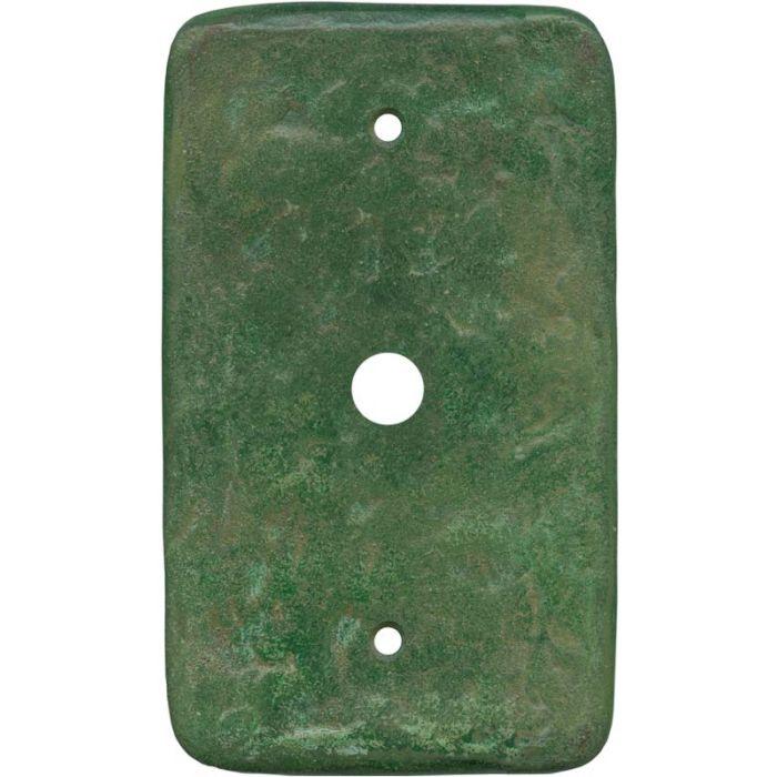Texture Mesa Verde Green Coax Cable TV Wall Plates