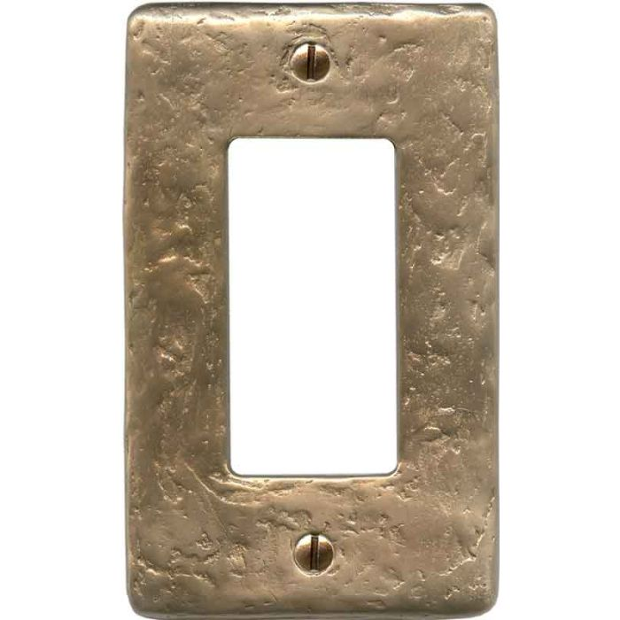 Textured Lustre Single 1 Gang GFCI Rocker Decora Switch Plate Cover