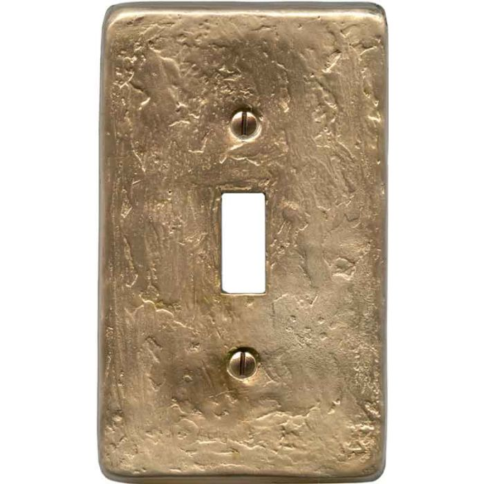 Textured Lustre Single 1 Toggle Light Switch Plates