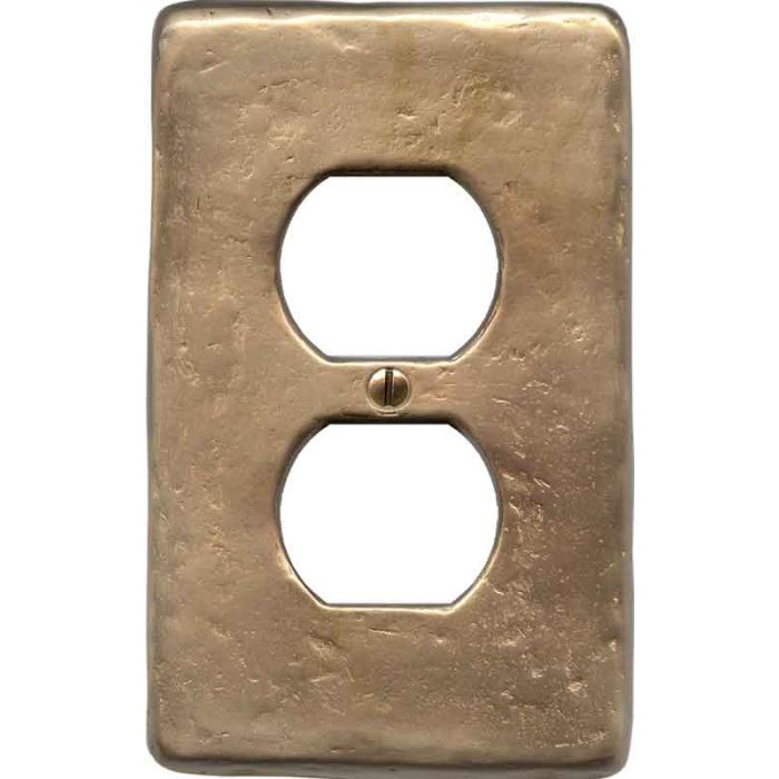 Textured Lustre 1 Gang Duplex Outlet Cover Wall Plate