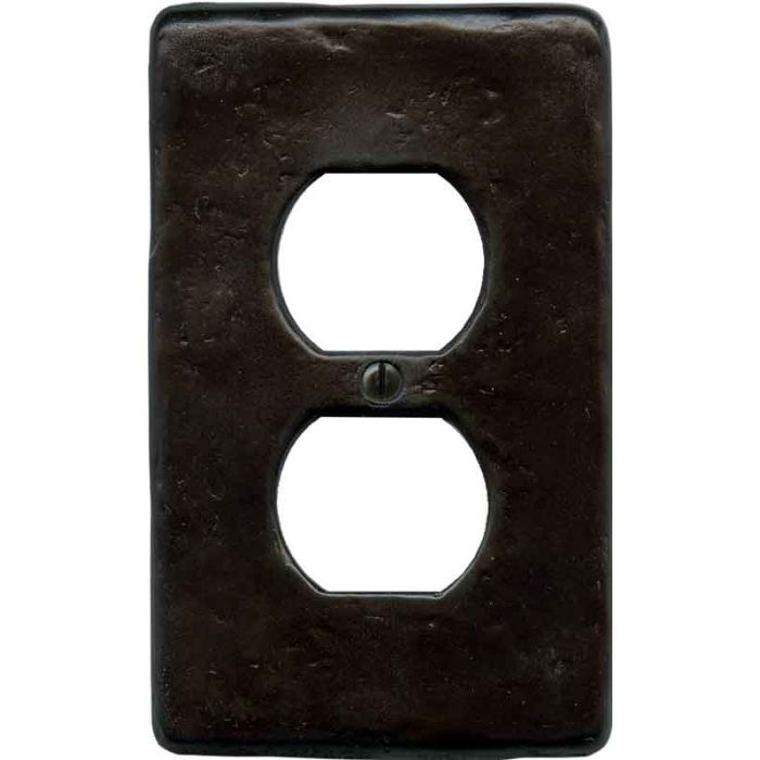 Textured Wrought 1 Gang Duplex Outlet Cover Wall Plate