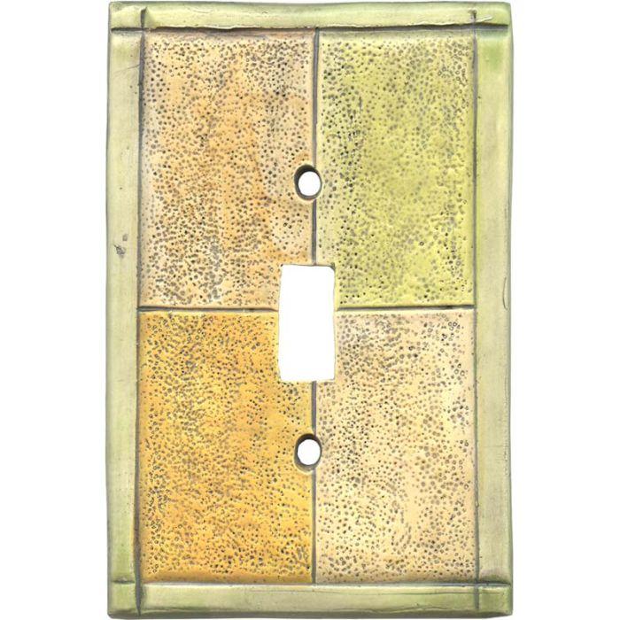 Tiles Citron Single 1 Toggle Light Switch Plates