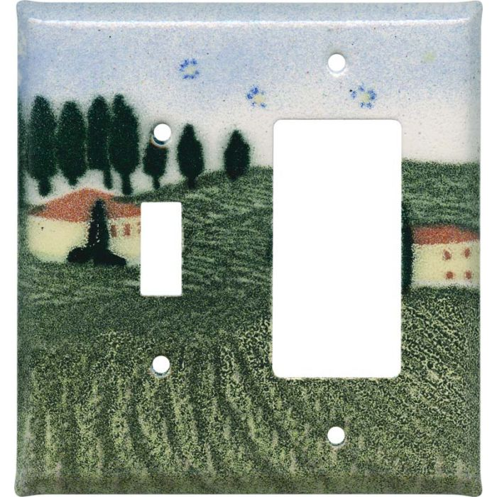 Tuscan Combination 1 Toggle / Rocker GFCI Switch Covers