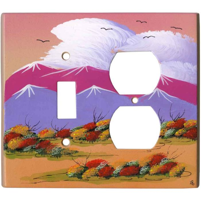 Wildflowers Combination 1 Toggle / Outlet Cover Plates